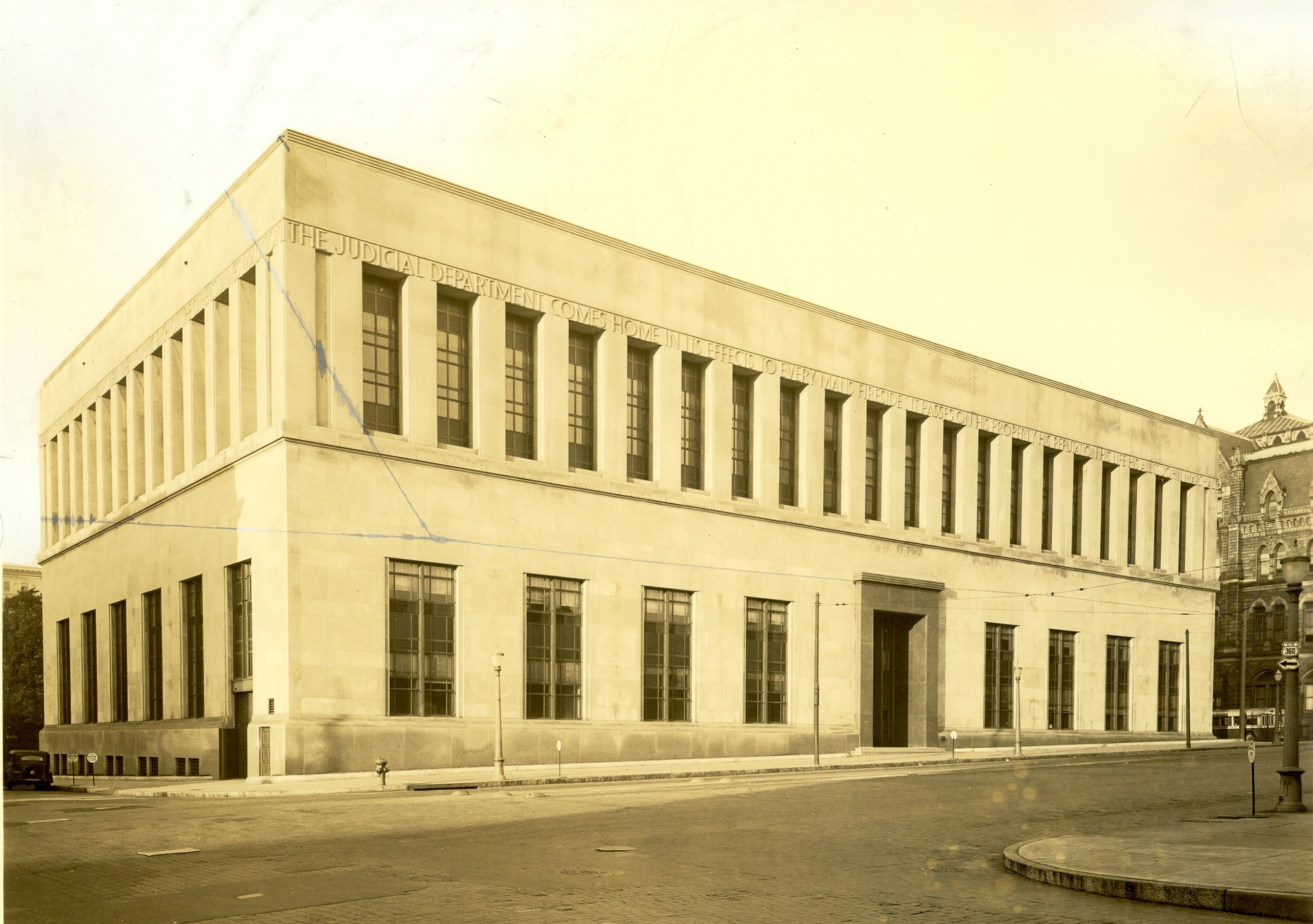 a short history of the supreme court of virginia virginia photograph circa 1940 of the supreme court of appeals state library building