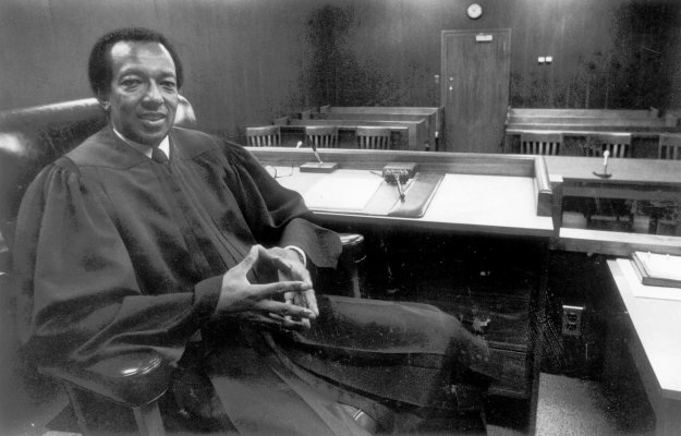 Richmond Juvenile and Domestic Relations Judge William H. Douglas, September 30, 1981. Courtesy of the Richmond Times-Dispatch.