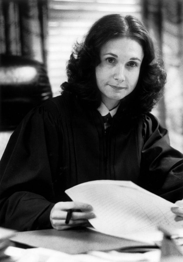 Circuit Court Judge Barbara Milano Keenan, Fairfax County, March 10, 1982. Courtesy of the Richmond Times-Dispatch.